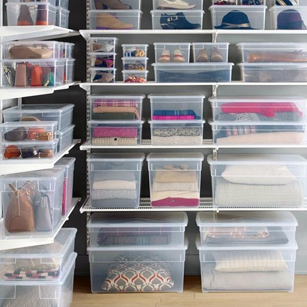 Ideas para mantener ordenado tu trastero de alquiler o el de casa